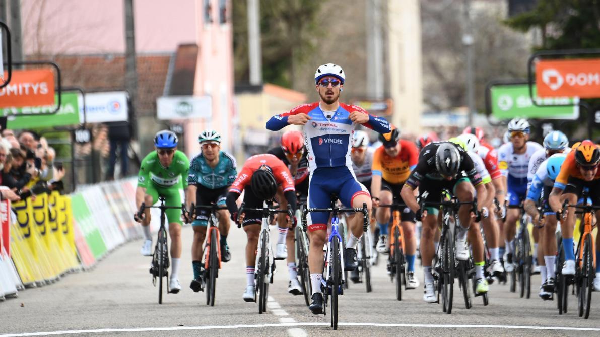 Niccolo Bonifazio remporte la 5e étape de la compétition — Paris-Nice