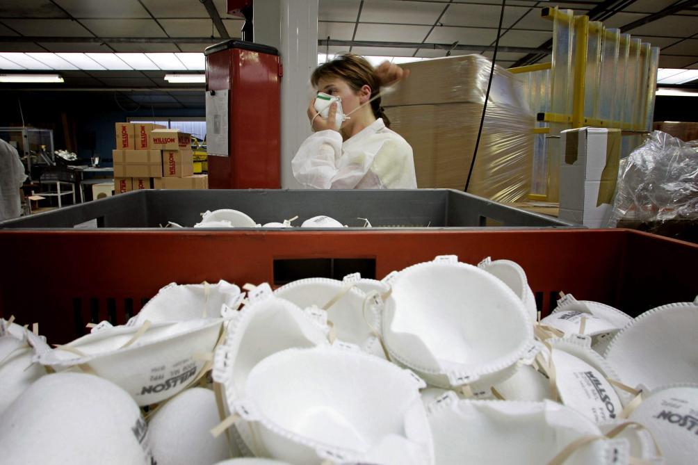 Coronavirus: les 5 millions de masques qu'a reçus la Belgique ne sont pas les bons