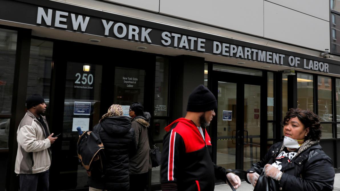 Coronavirus: 1480 morts aux États-Unis dans les 24 dernières heures