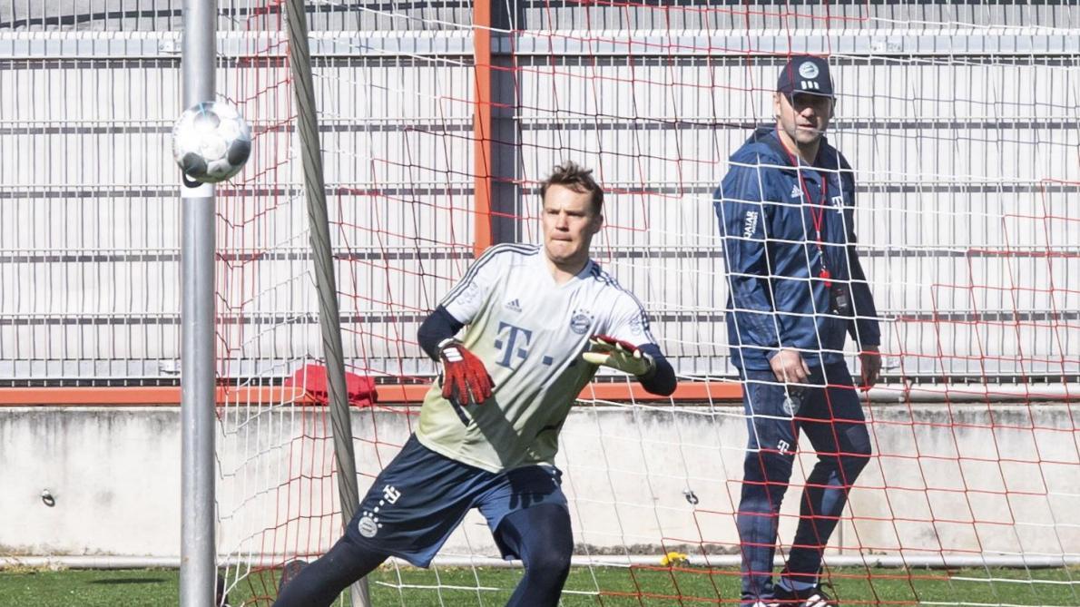 Bundesliga - Le Bayern de retour à l'entraînement ce lundi