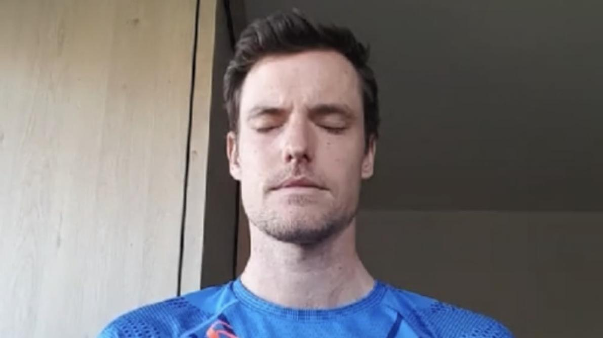 Athlétisme: Koen Naert, entre méditation et semi-marathon