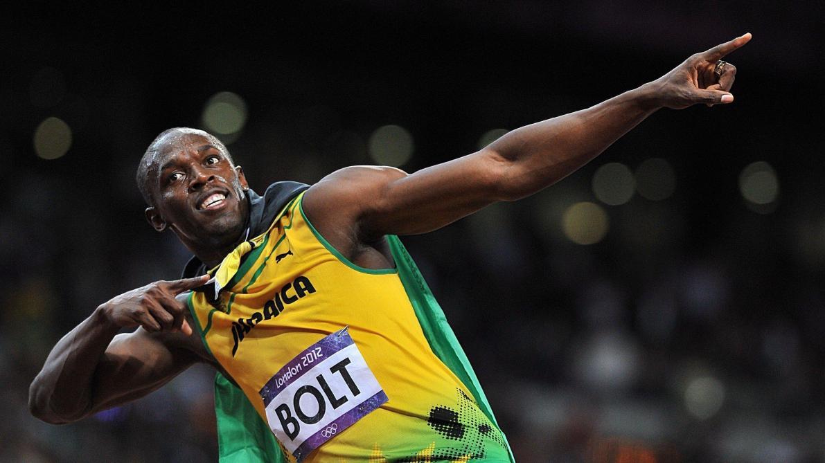 Bolt défend la distanciation avec une photo de son 100m
