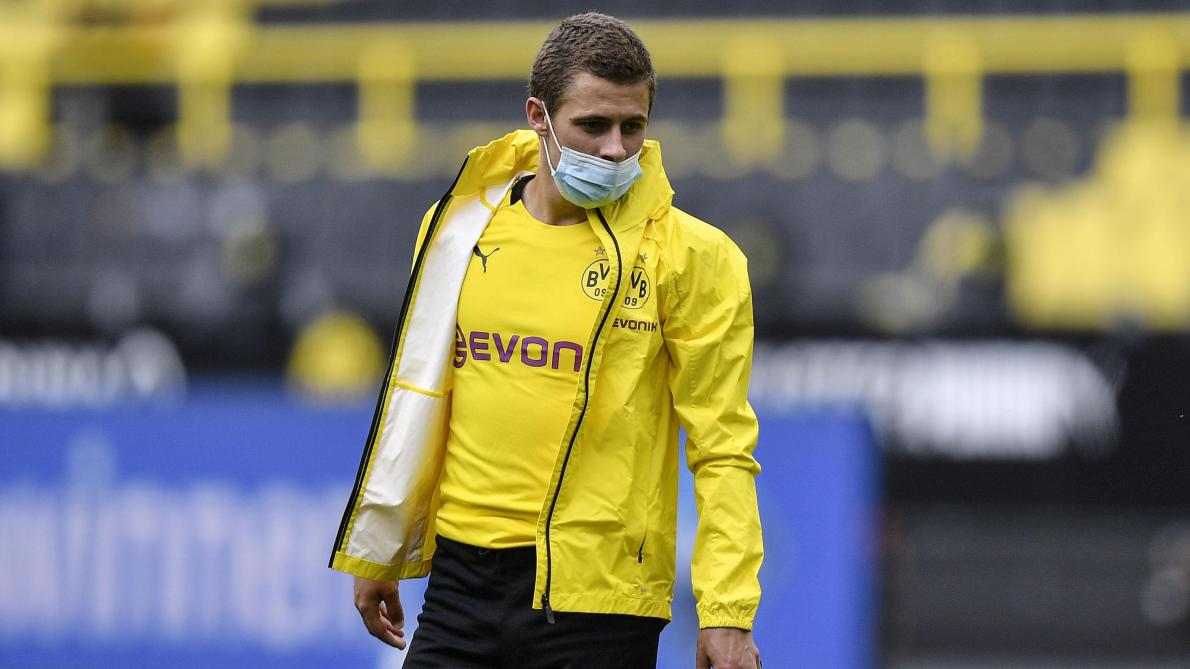 Thorgan Hazard. @AFP