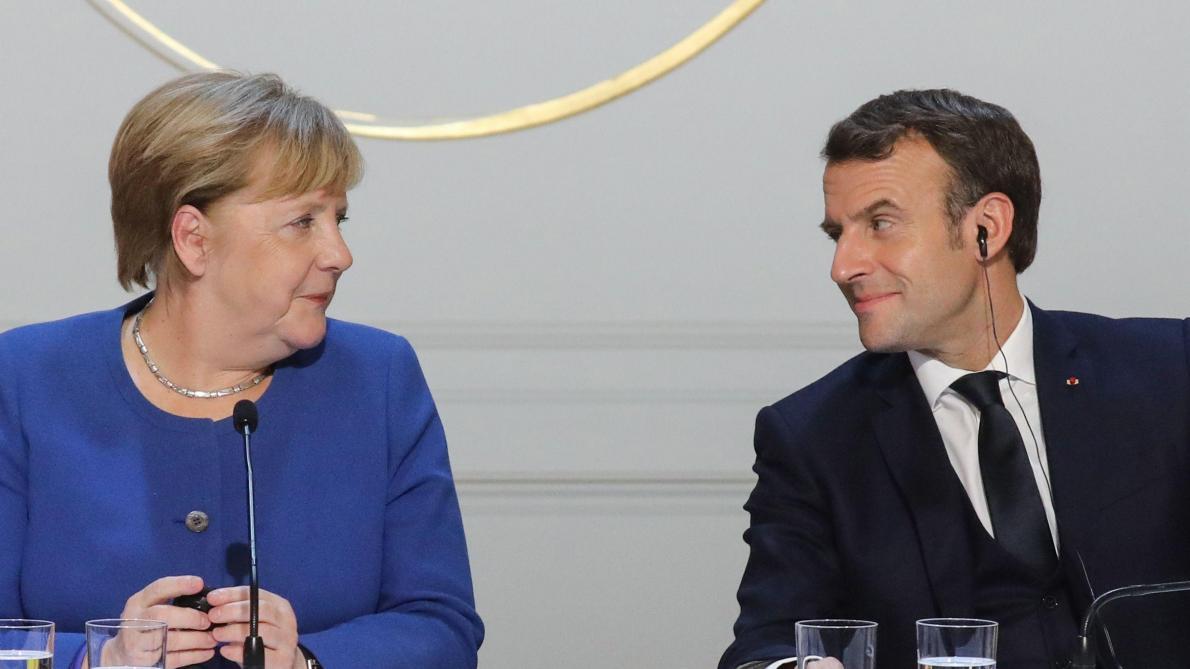 Coronavirus et relance : Merkel et Macron présentent une