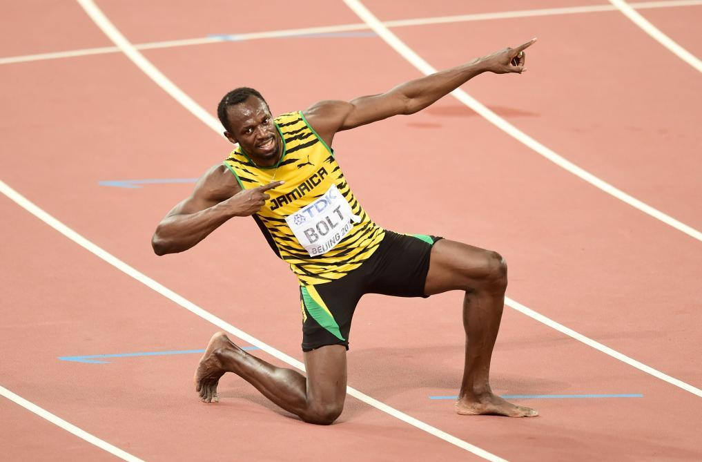 La légende Usain Bolt père pour la première fois — Athlétisme