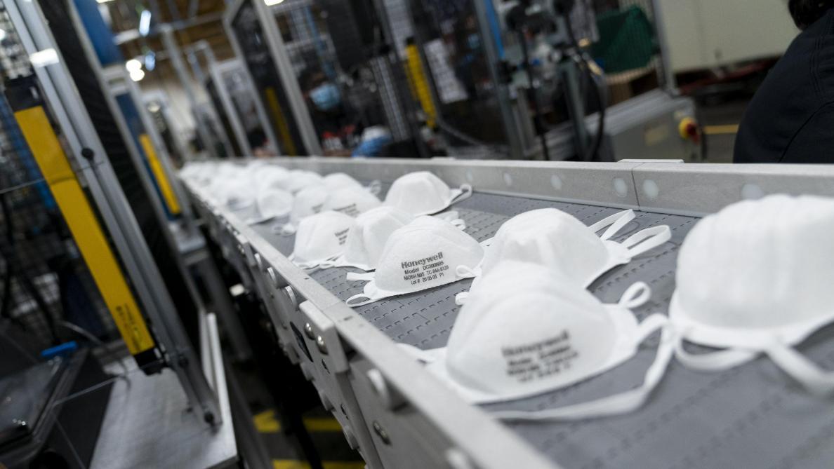 Une entreprise belge d'emballage de pralines veut produire 50 millions de masques par an