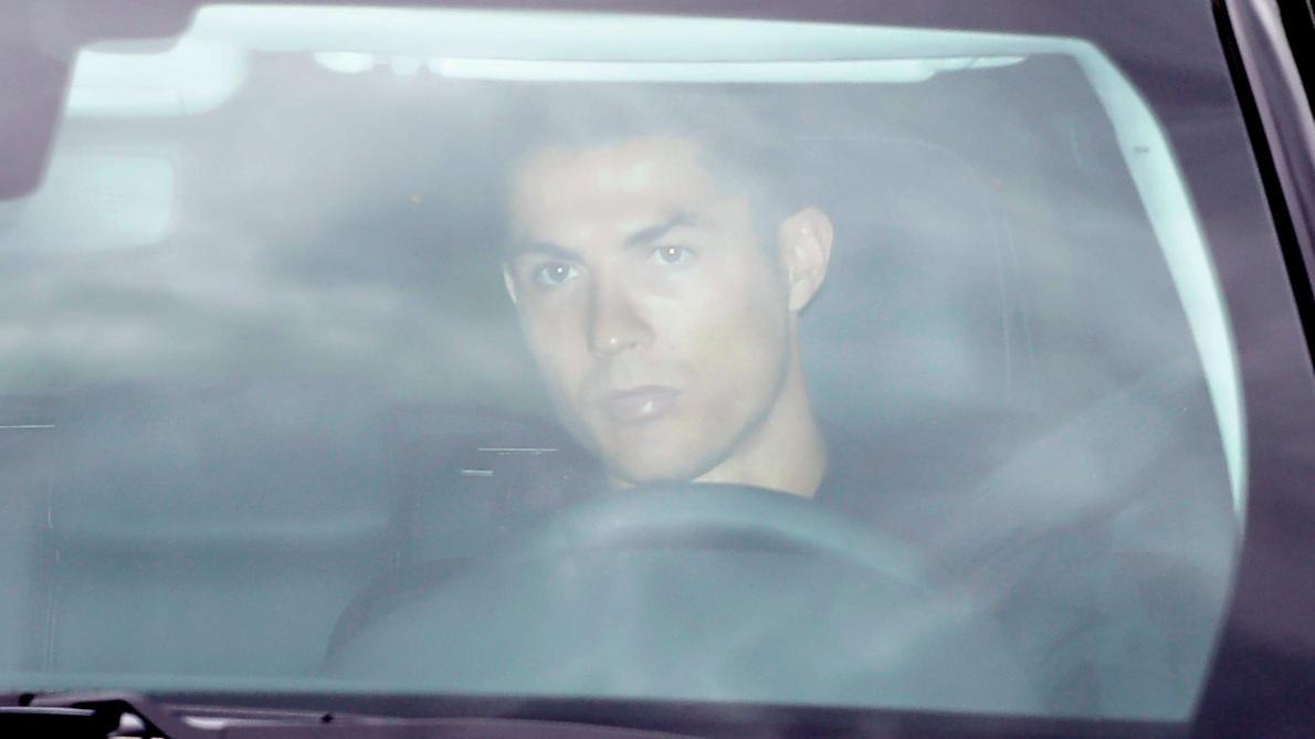 Cristiano Ronaldo testé pour le Coronavirus — Juventus de Turin