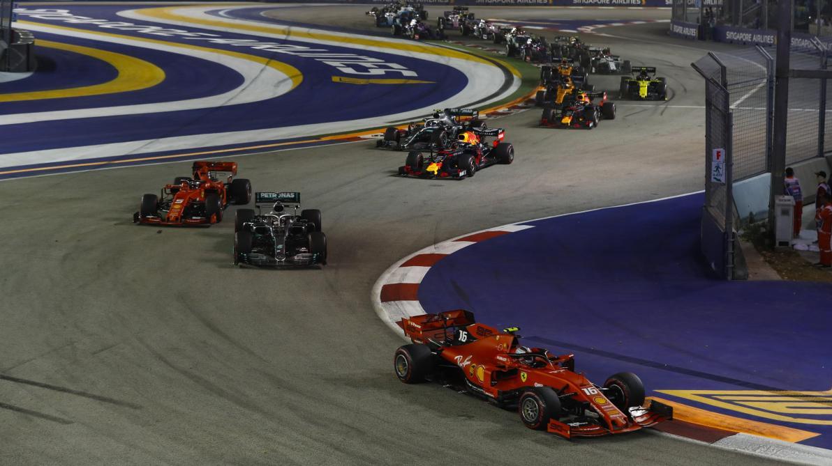 Formule 1: les GP d'Azerbaïdjan, de Singapour et du Japon 2020 annulés