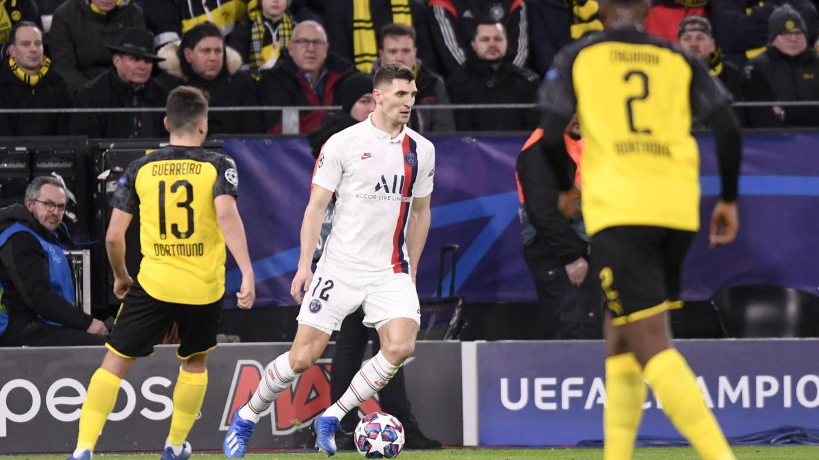 Thomas Meunier (PSG) remplacerait Hakimi — Dortmund