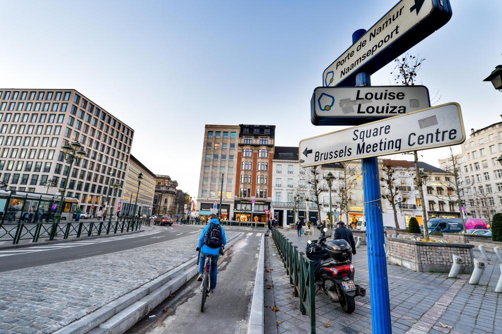Bruksela: rondo Louise przeprojektowane z myślą o rowerzystach
