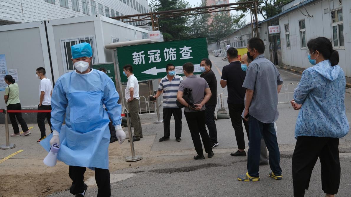Coronavirus Pékin va mener des tests de dépistage sur 8 millions de personnes