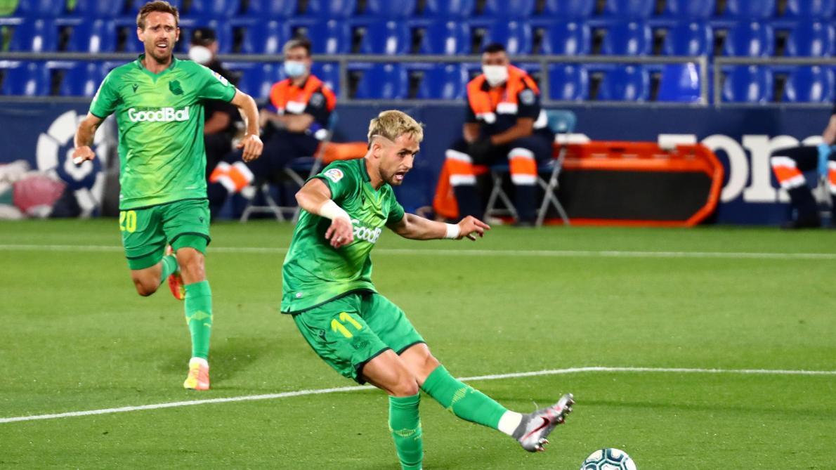 Liga: la Real Sociedad s'incline à Getafe malgré le but d'Adnan Januzaj (2-1,  vidéos) - Le Soir