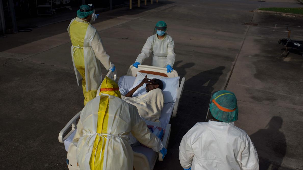 Les hôpitaux au bord de la saturation aux Etats-Unis — Coronavirus