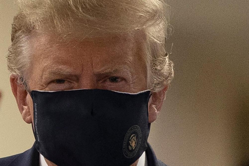 Trump porte un masque en public : pourquoi ce n'est pas anodin