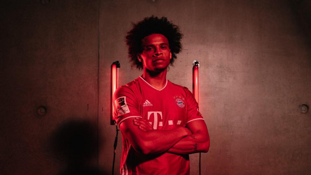 Leroy Sané s'est entraîné pour la première fois avec le Bayern Munich