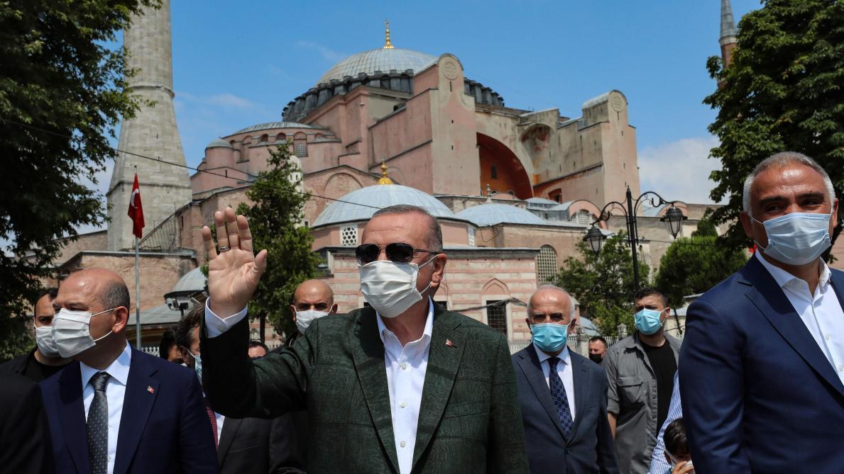 Vifs échanges entre la Turquie et la Grèce sur Sainte-Sophie