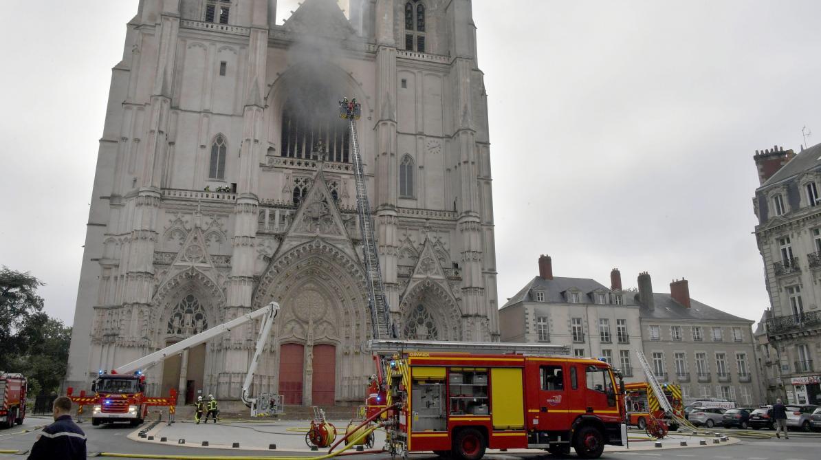Incendie dans la cathédrale de Nantes: le suspect