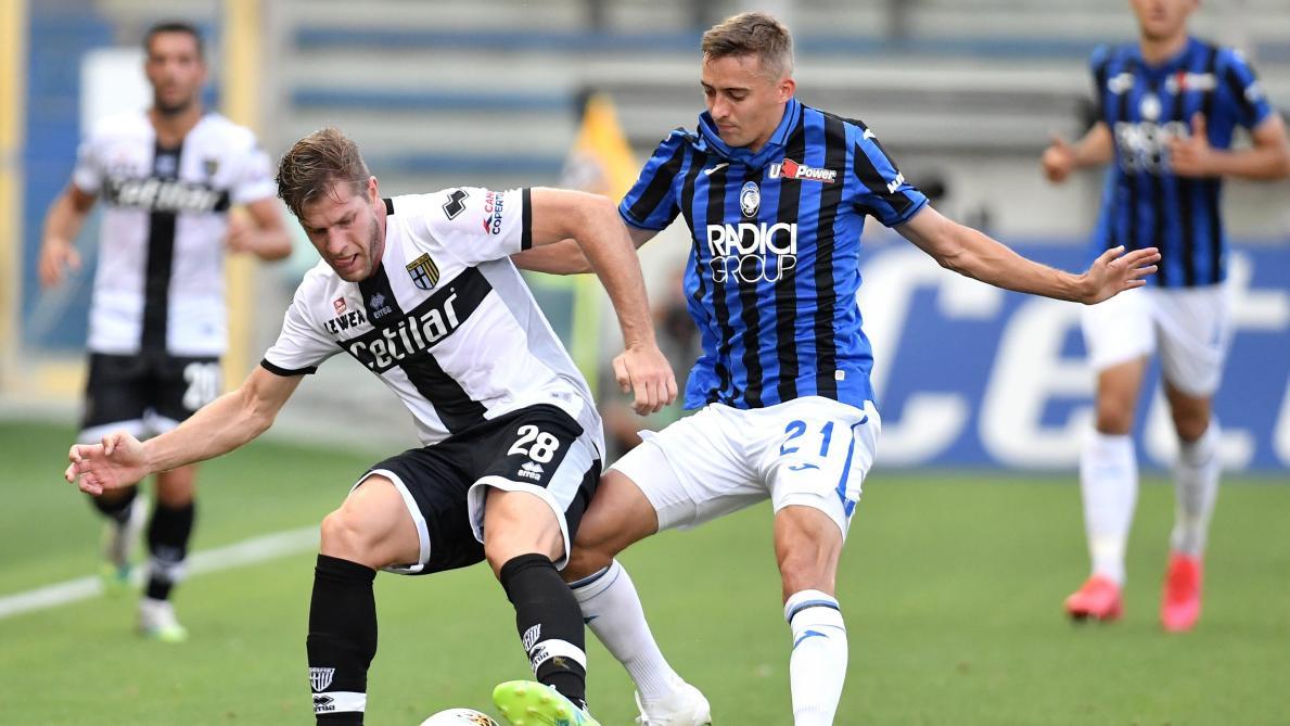 L'Atalanta galère mais gagne à 15 jours du quart de finale — PSG