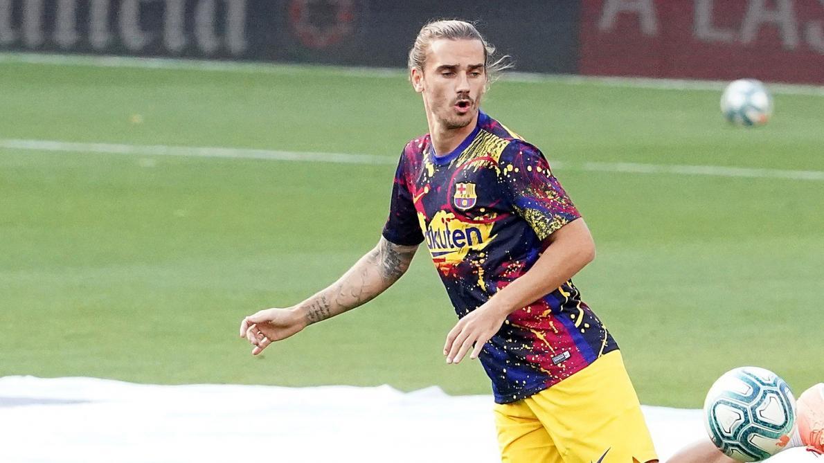 Griezmann de retour à l'entraînement — FC Barcelone