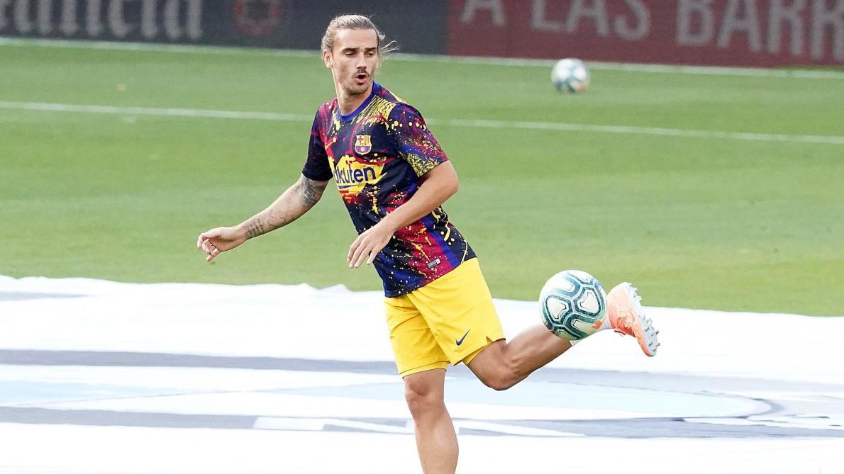 Antoine Griezmann change de numéro — FC Barcelone