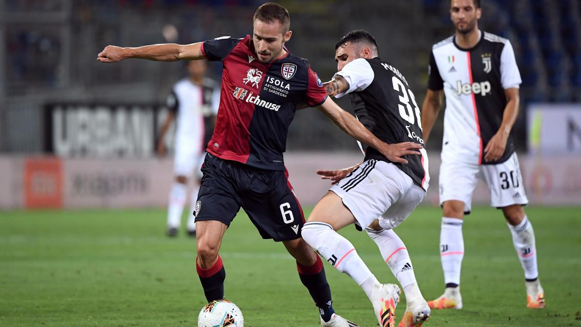 Serie A: la Juventus battue à Cagliari, la Roma arrache sa ...