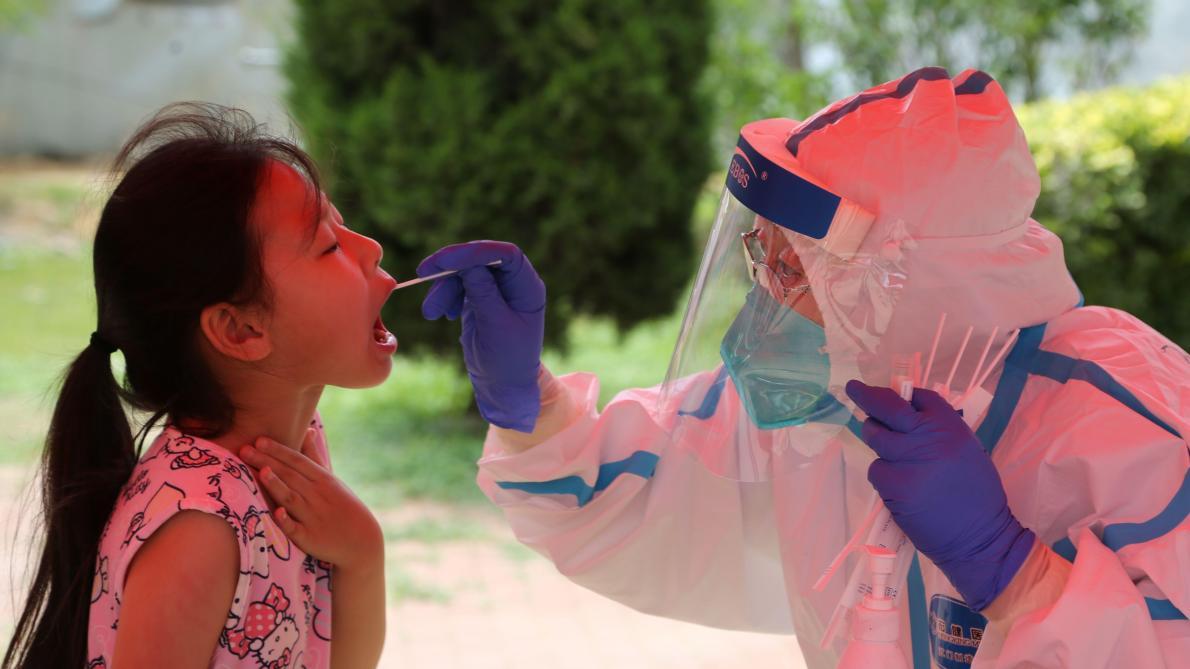 Les enfants de moins de 5 ans extrêmement contagieux — Coronavirus