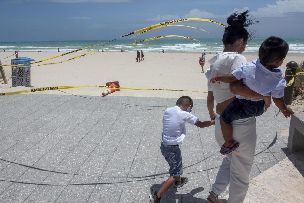 États-Unis: la Caroline du Nord frappée par l'ouragan Isaias