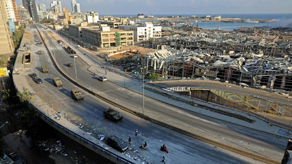 Fonctionnaires du port en détention et manifestants en colère — Liban