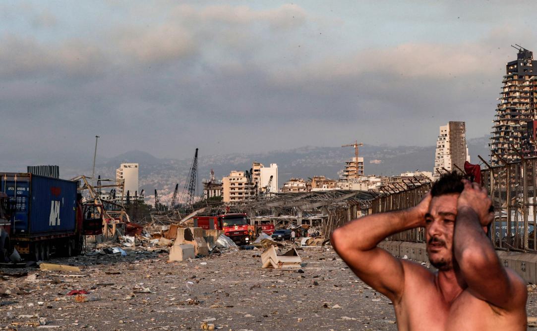 Beyrouth après la catastrophe en images