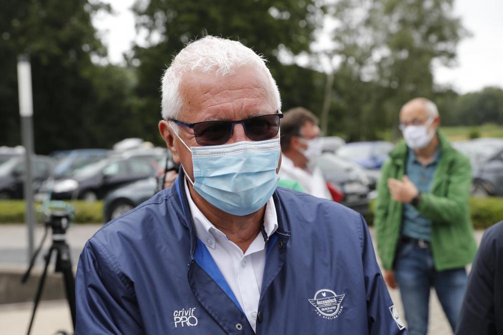 Le médecin du Tour de Pologne :