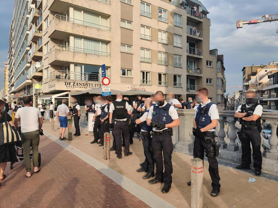 Belgique: bagarre générale sur la plage de Blankenberge