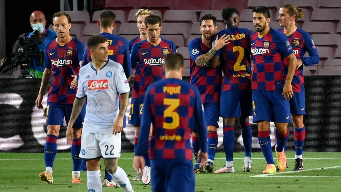 Le Barça balaye Naples et s'avance vers le Bayern — Ligue des champions