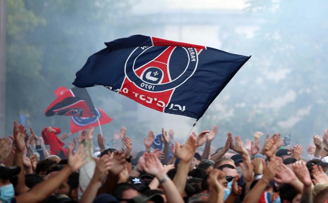 Les supporters du PSG attendent la consécration — Ligue des champions