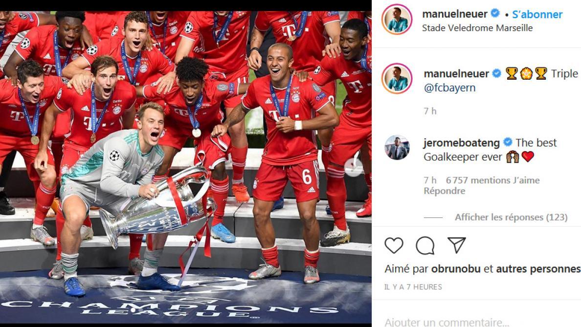 Instagram Manuel Neuer