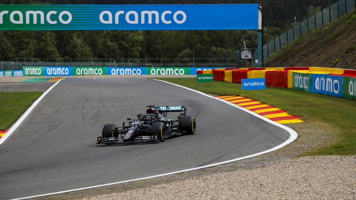 Formule 1: Hamilton remporte le GP de Belgique, devant Bottas et Verstappen