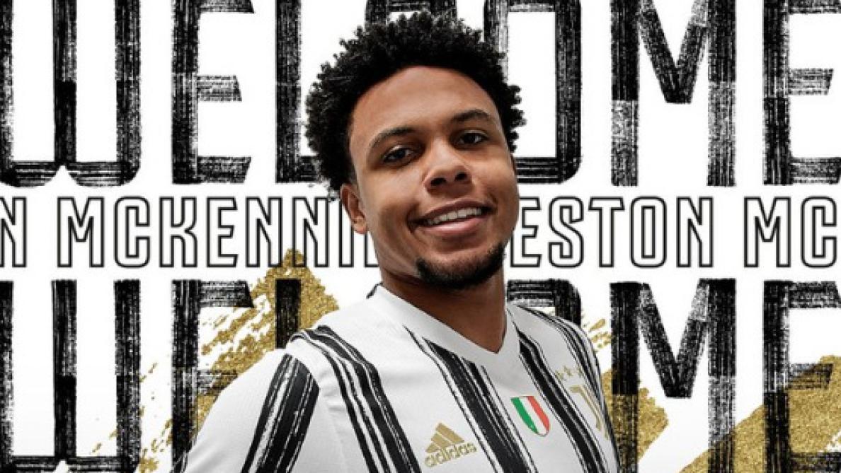 McKennie signe à la Juventus — OFFICIEL