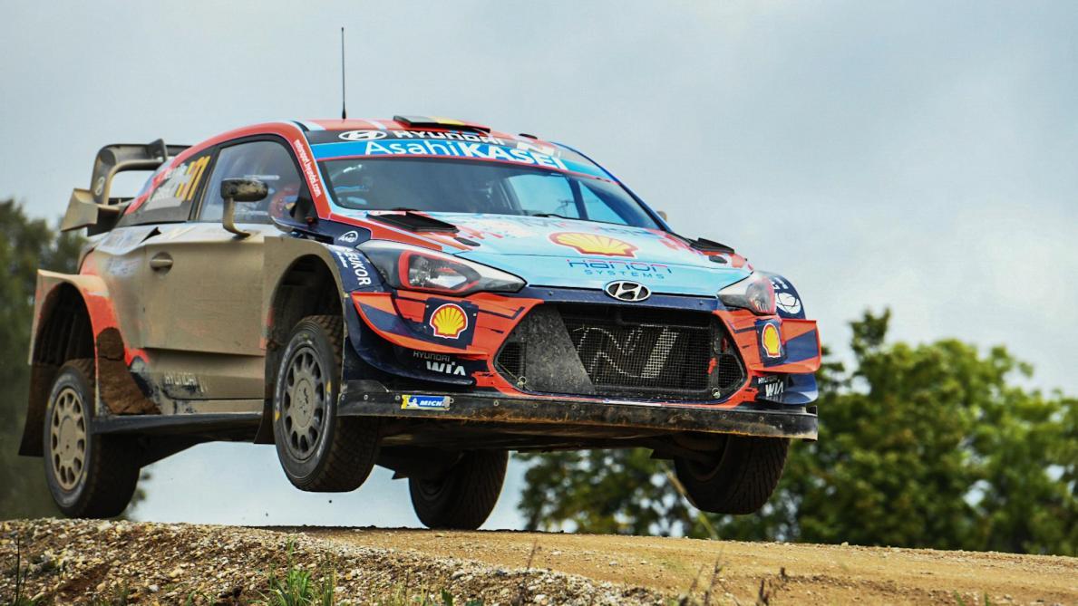 WRC : Ott Tänak le plus à l'aise au shakedown - Rallye - WRC
