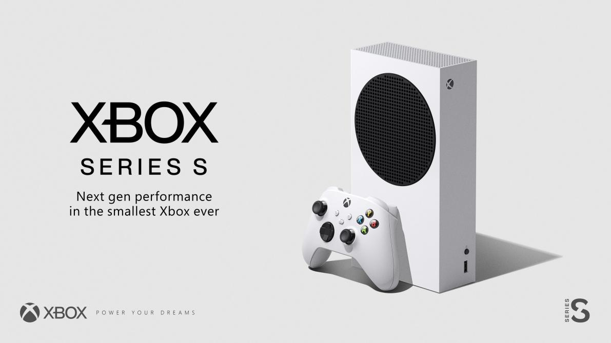 Microsoft officialise la Xbox Series S