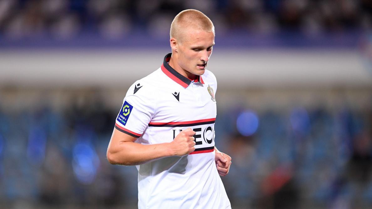 Ligue 1 Kasper Dolberg Buteur De L Ogc Nice Cambriole Pendant Un Match Au Danemark Le Soir