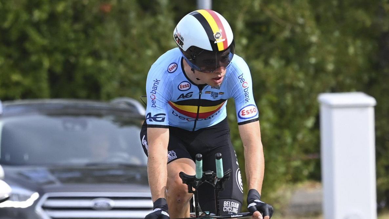Stefan Küng prend la 3e place lors du chrono — Cyclisme