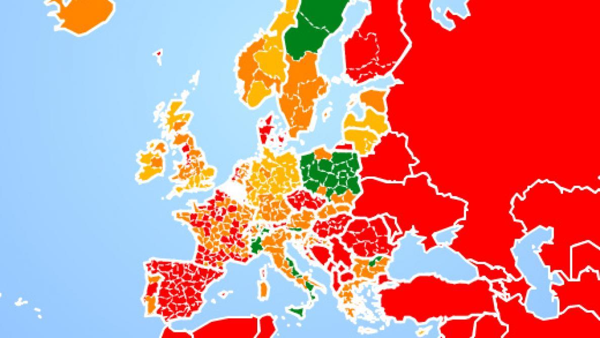 Voyages A L Etranger Le Spf Affaires Etrangeres Lance Une Carte Interactive Pour Clarifier Les Conditions De Voyage Le Soir