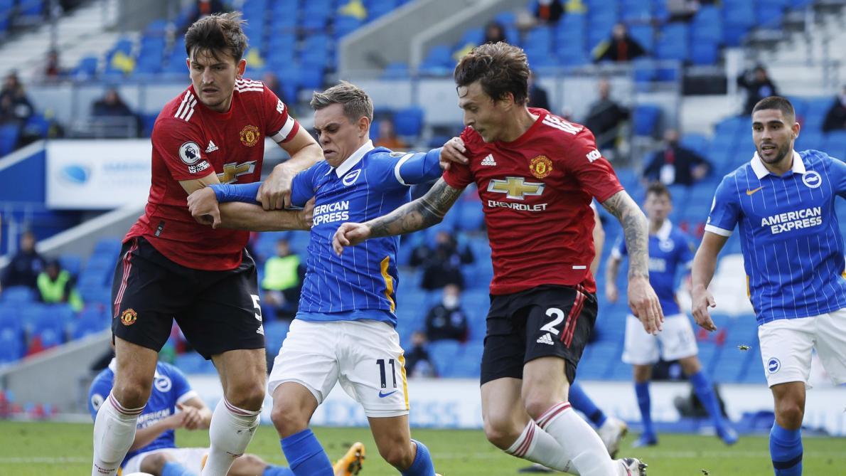 Manchester United s'impose dans la douleur à Brighton — Premier League