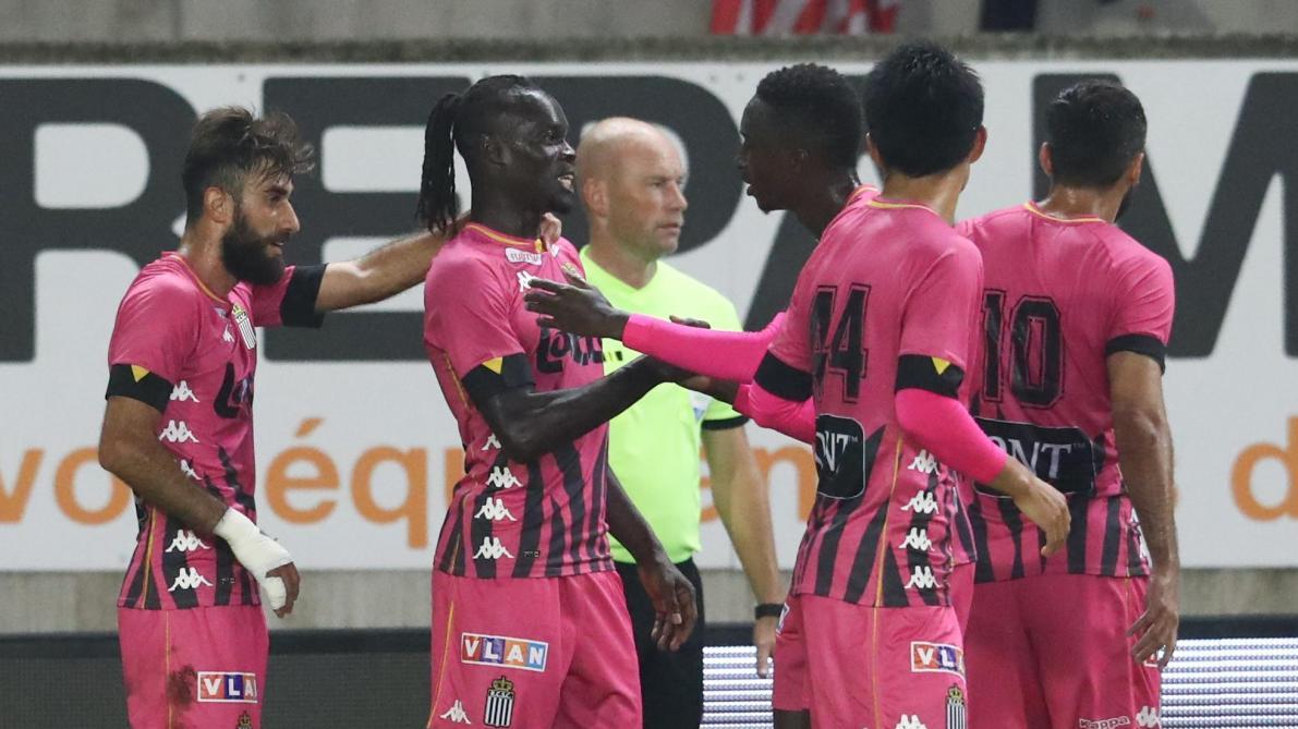 Mamadou Fall après Mouscron-Charleroi (1-1): «Un point à l'extérieur, ce n'est pas si mal»