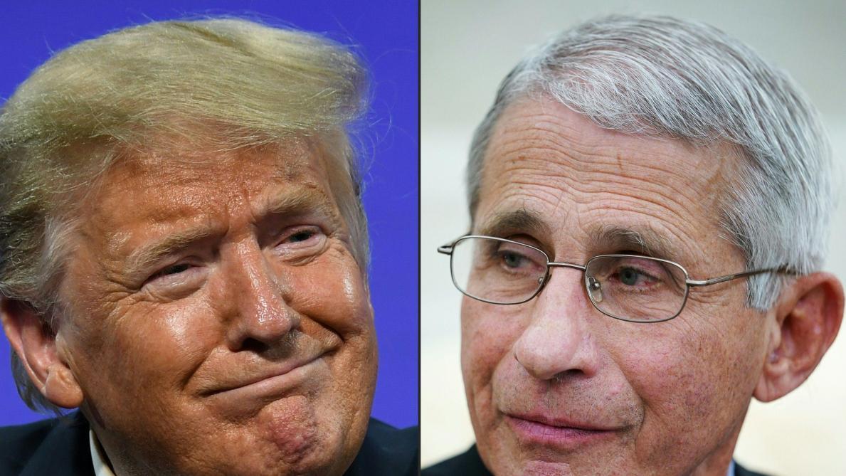 USA : le Dr Fauci dit stop à l'équipe de Trump