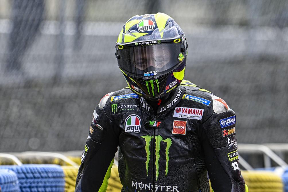 MotoGP : Valentino Rossi positif au COVID et forfait pour le GP d'Aragon