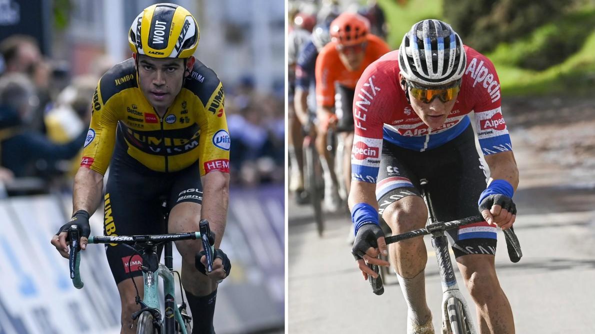 Van Aert- Van der Poel: duel final au Tour des Flandres