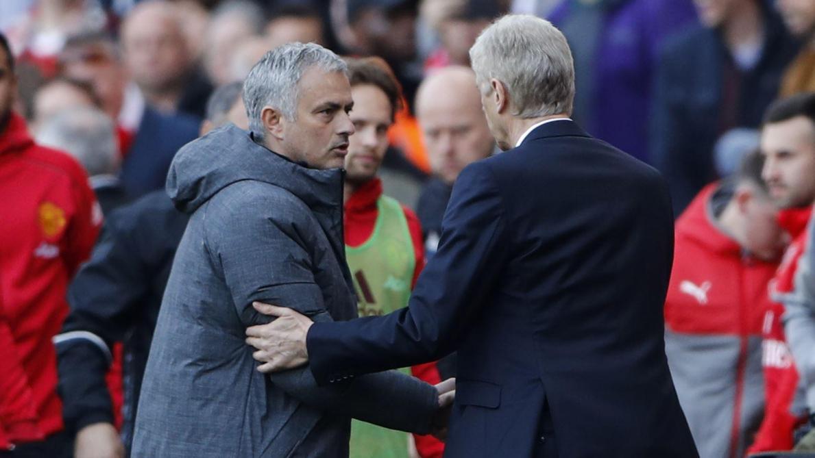 International : Tottenham : Mourinho envoie une pique à Arsène Wenger
