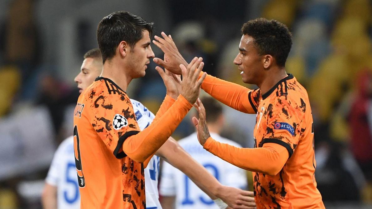 La Juventus assure l'essentiel à Kiev grâce à un doublé d'Alvaro Morata