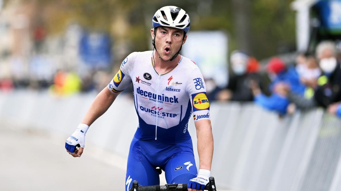 Le vent n'a pas pu stopper Yves Lampaert — Bruges-La Panne