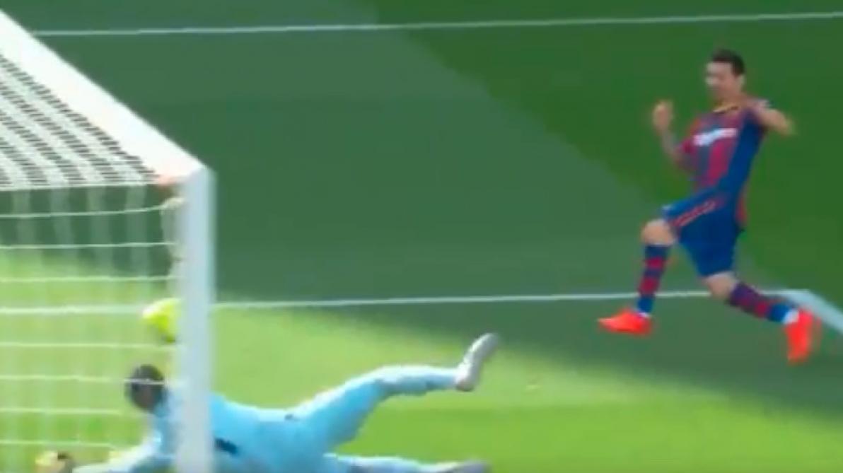 Thibaut Courtois ne tremble pas devant Lionel Messi: le Diable rouge remporte un face-à-face avec la star du Barça (vidéo)